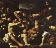Giovanni Francesco  Guercino The Raising of Lazarus oil painting picture wholesale