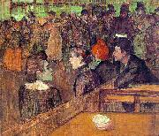 Henri  Toulouse-Lautrec At the Moulin de la Galette oil painting picture wholesale