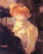 Henri  Toulouse-Lautrec The Milliner oil painting picture wholesale