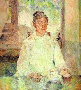 Henri  Toulouse-Lautrec Comtesse Adele-Zoe de Toulouse-Lautrec (The Artist's Mother) oil painting
