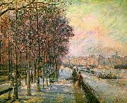 J B Armand  Guillaumin La Place Valhubert, Paris oil painting artist