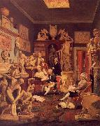 Johann Zoffany Charles Towneley's Library in Park Street oil