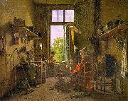 Martin  Drolling Interior of a Kitchen oil painting