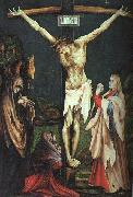 Matthias  Grunewald The Small Crucifixion oil painting