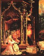 Matthias  Grunewald The Isenheimer Altarpiece oil painting