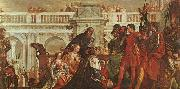 Paolo  Veronese The Family of Darius before Alexander oil painting artist