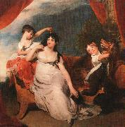 Sir Thomas Lawrence Mrs Henry Baring and her Children oil painting picture wholesale