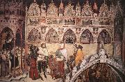 ALTICHIERO da Zevio Virgin Being Worshipped by Members of the Cavalli Family oil painting picture wholesale