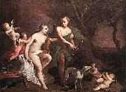 AMIGONI, Jacopo Venus and Adonis uj oil painting picture wholesale