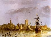 Aelbert Cuyp View of Dordrecht Germany oil painting reproduction