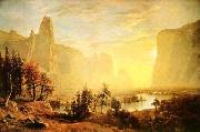 Albert Bierstadt The Yosemite Valley oil painting picture wholesale