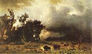 Albert Bierstadt Buffalo Trail oil painting picture wholesale