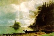 Albert Bierstadt The Island oil painting picture wholesale