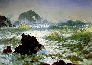 Albert Bierstadt Seal Rock, California oil painting picture wholesale