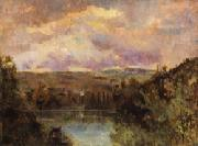 Albert Lebourg Edge of the Ain River oil