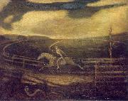Albert Pinkham Ryder The Race Track oil painting