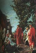 Albrecht Altdorfer Christ Taking Leave of His Mother oil painting picture wholesale