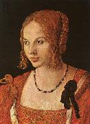 Albrecht Durer Portrait of a Young Venetian Lady oil painting picture wholesale