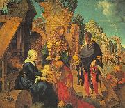 Albrecht Durer The Adoration of the Magi_z oil painting picture wholesale