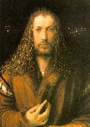 Albrecht Durer Self Portrait in a Fur Coat oil