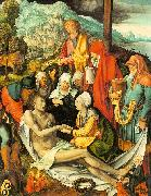 Albrecht Durer Lamentations Over the Dead Christ oil