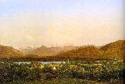 Alexandre Calame View of Geneva from Petit-Saconnex oil painting