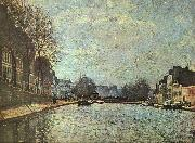 Alfred Sisley The St.Martin Canal oil