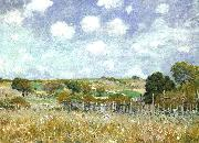 Alfred Sisley Meadow oil