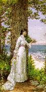 Alfred Thompson Bricher Under The Seaside Tree oil painting picture wholesale