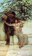 Alma Tadema Promise of Spring oil painting picture wholesale