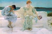 Alma Tadema  Ask Me No More oil painting picture wholesale