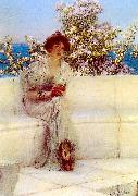 Alma Tadema The Year is at the Spring oil painting picture wholesale