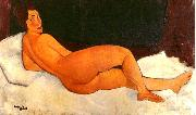 Amedeo Modigliani Nude, Looking Over Her Right Shoulder oil painting picture wholesale