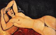 Amedeo Modigliani Reclining Nude with Arm Across Her Forehead oil painting picture wholesale