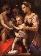 Andrea del Sarto The Holy Family with the Infant St.John oil