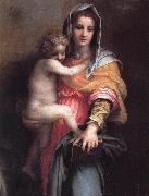 Andrea del Sarto Madonna of the Harpies (detail)  fgfg Germany oil painting reproduction