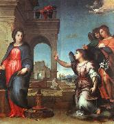 Andrea del Sarto The Annunciation oil