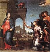 Andrea del Sarto The Annunciation f7 oil