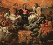 Annibale Carracci  The Coronation of the Virgin oil