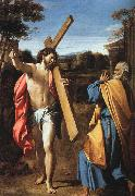 Annibale Carracci Christ Appearing to Saint Peter on the Appian Way oil painting picture wholesale