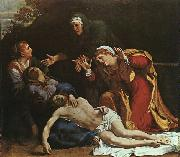 Annibale Carracci The Dead Christ Mourned oil