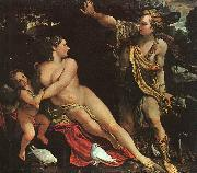 Annibale Carracci Venus, Adonis and Cupid Germany oil painting reproduction
