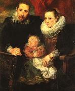 Anthony Van Dyck Family Portrait_5 oil painting picture wholesale