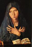 Antonello da Messina Virgin of the Annunciation oil