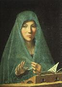 Antonello da Messina Virgin Annunciate oil