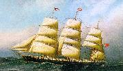 Antonio Jacobsen The British Ship Polynesian oil painting picture wholesale