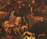 Antonio Pisanello The Vision of St.Eustace oil painting artist
