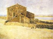 Aristide Maillol House in Roussillon oil painting picture wholesale