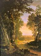 Asher Brown Durand The Beeches oil
