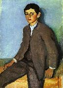 August Macke Farmboy from Tegernsee oil painting picture wholesale